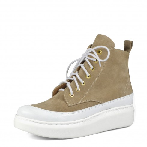 Sneakers cappucciono + biel